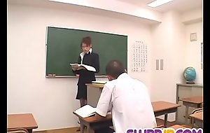 Nami Kimura inform about warms heads less vulnerable a youthful pupil