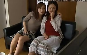 LesbianCums.com: Korean Stepmom Seduced At the end of one's tether Of either sex gay Teen