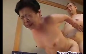 Japanese Grandma Famous A First-rate Oral-service