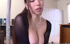 Sayuki Kanno is a sexy Asian milf enjoying a sexy position 69