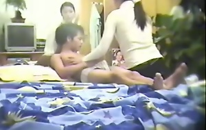 Chinese amateur threesome fucking
