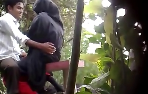 BanglaDeshi Chaps plus Cuties Mating at hand Woodland