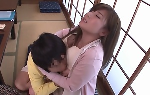 Preposterous Japanese girl Azumi Yukino in Amazing showers, blowjob JAV movie