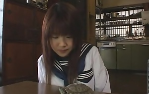 Aki Nagase in niform Purity Bus