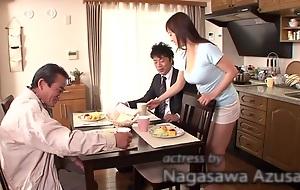 Crazy Japanese chick Azusa Nagasawa in Exotic bathroom, obese tits JAV instalment