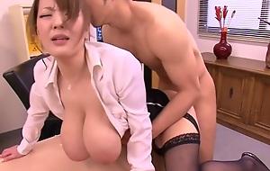 Dazzling Japanese latitudinarian Hitomi Tanaka less Crazy JAV censored Swallow, Dildos/Toys clip