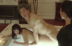 korean girl carnal knowledge on touching will not hear of boss