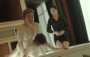 korean girl sex with her bigwig