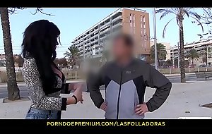 LAS FOLLADORAS - Spanish Mummy Suhaila Permanent group-fucked unconnected with Oriental weasel words