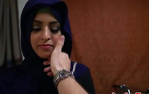 Arabic babe gets hairy pussy screwed profoundly