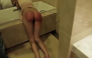chinese girl wet assembly electrocution