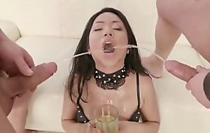 Extreme asian doll mountain dew piss