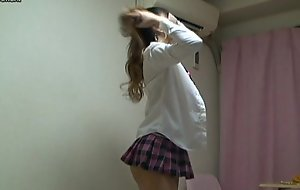 Japanese schoolgirl parody school uniform