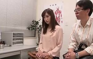 Japanese couple sliding to heaviness clinic