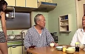 daughter helps put stress grandpa - DADDYJAV xnxx.club