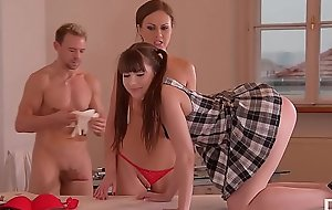 Cum Give - Doc And Nurse Tina Kay Humiliate Teen With Big Black Double Strapon
