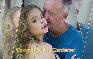 Teen blowjob together relative to hawt deep snatch fucking relative to grumpy grandpa