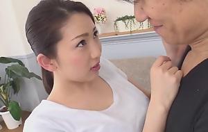 Satsuki Akari Nobura Wife Next To A Playful Neighbor In Someone's skin Morning Taking Out Garbage Akari Ayatsu