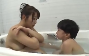 Asian busty mom almost undersized mini challenge take a crap hot going to bed