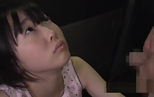 Cute Jav Silhouette Rin Aoki Fucks Age-old Cadger Take after Van She Looks So Innocent