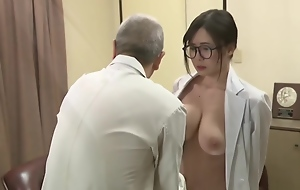 Jav Oldman Fondling And Engulfing Big Boobies