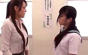 Oriental Schoolgirl Gives Teacher a Homework Babebj.com