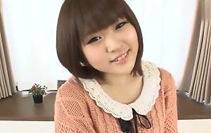 Asian brunette in porn video