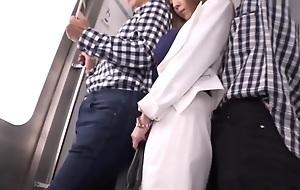 Big natural breasts Japanese Hitomi Tanaka in bus