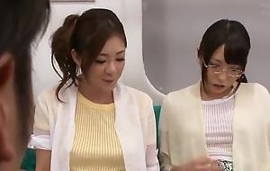 Pussy licking sex video featuring Minori Hatsune and Chika Arimura