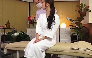 Gorgeous Japanese MILF Ai Sayama in kinky porno glaze in office