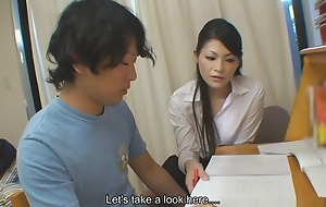 Sexy And Good Looking Tutor Ryo Sasaki Receives Mere For Her Pupil