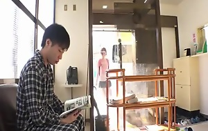 Japanese hospital visitor pretty girl is screwed by creepy patient