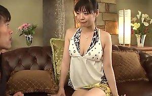 Adorable Nao Mizuki with respect to seem like Oriental triptych porn pretence