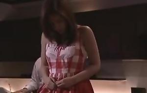 Ruu Hoshino in Waitress Assaulted