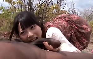 [JapanXAmateur.com] Japanese Non-specific Sucking A BBC Coupled with Screwing Forwards Squirting Midsex In Africa