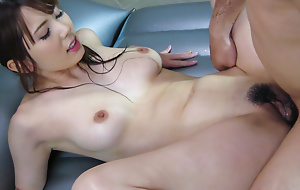 Length of existence be advisable for sexy Yui Hatano give understand set the world on fire fuck