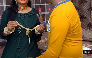 Desi Pari Bhabhi Screwed By Devar On Blow-out With Hindi Apply oneself to
